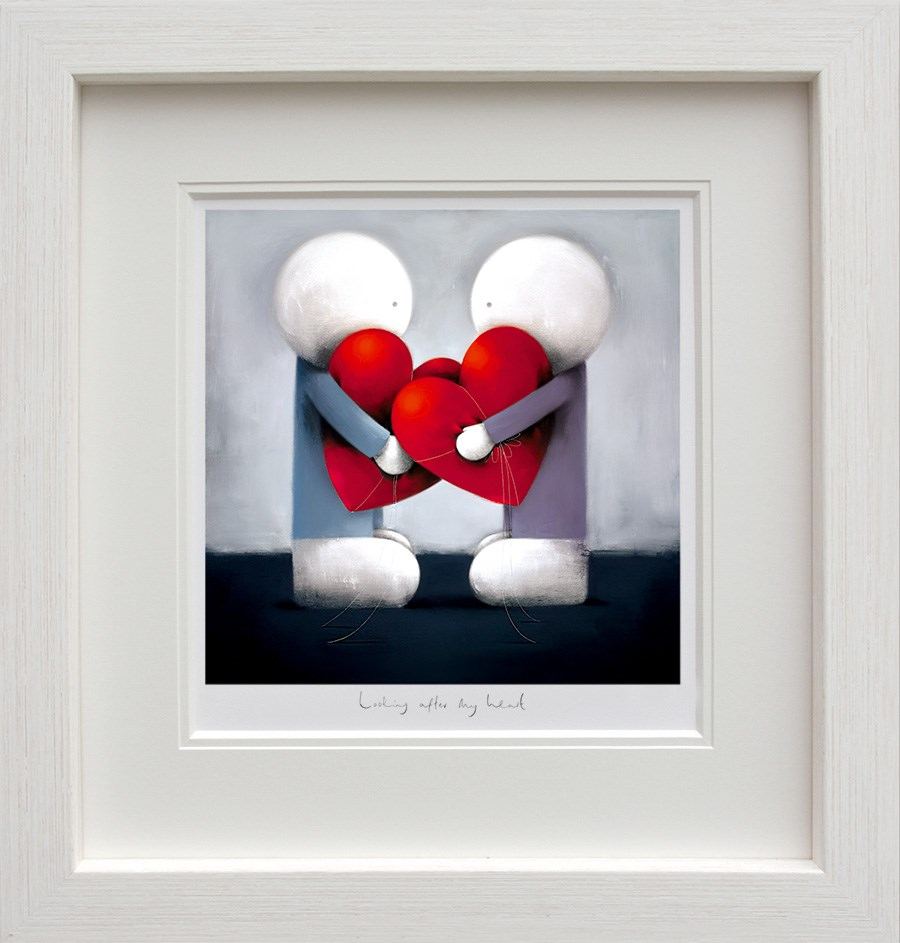 Looking After My Heart by Doug Hyde - Limited Edition on Paper sized 12x12 inches. Available from Whitewall Galleries